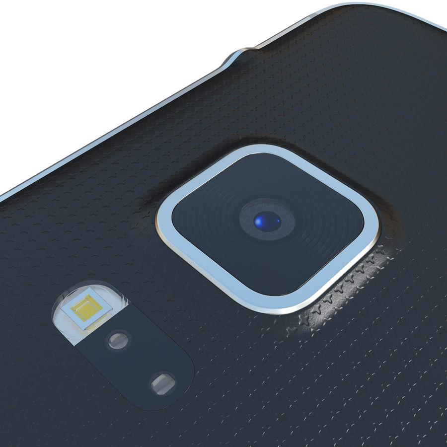 Samsung Galaxy Alpha Black royalty-free 3d model - Preview no. 18