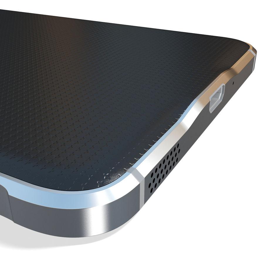Samsung Galaxy Alpha Black royalty-free 3d model - Preview no. 17