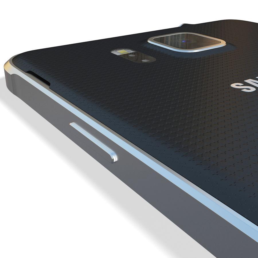 Samsung Galaxy Alpha Black royalty-free 3d model - Preview no. 16