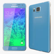 Samsung Galaxy Alpha Blue 3d model