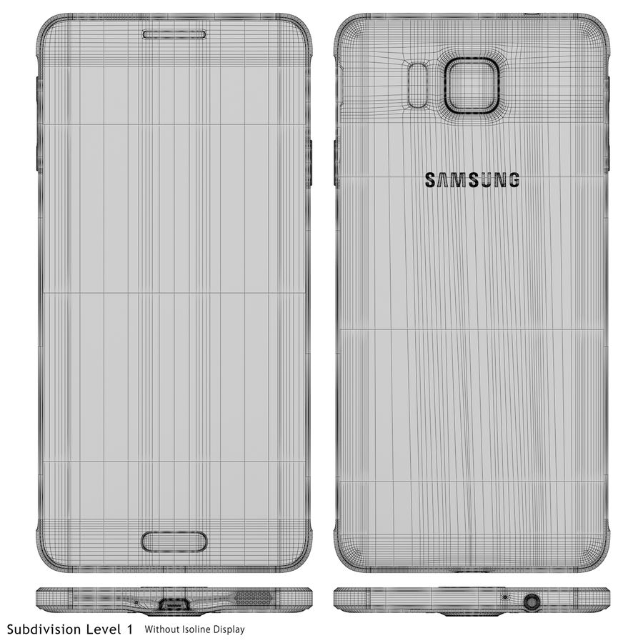 Samsung Galaxy Alpha Gold royalty-free 3d model - Preview no. 22