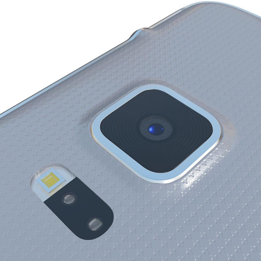 Samsung Galaxy Alpha Silver royalty-free 3d model - Preview no. 18