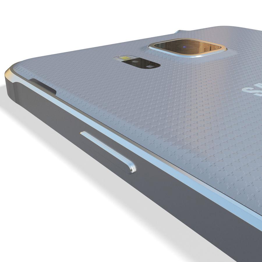 Samsung Galaxy Alpha Silver royalty-free 3d model - Preview no. 16