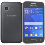 Samsung Galaxy Young 2 Zwart 3d model