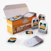 茶艾哈迈德橙白毫在盒子里 3d model