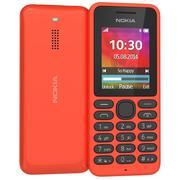 Nokia 130 Dual Sim Kırmızı 3d model