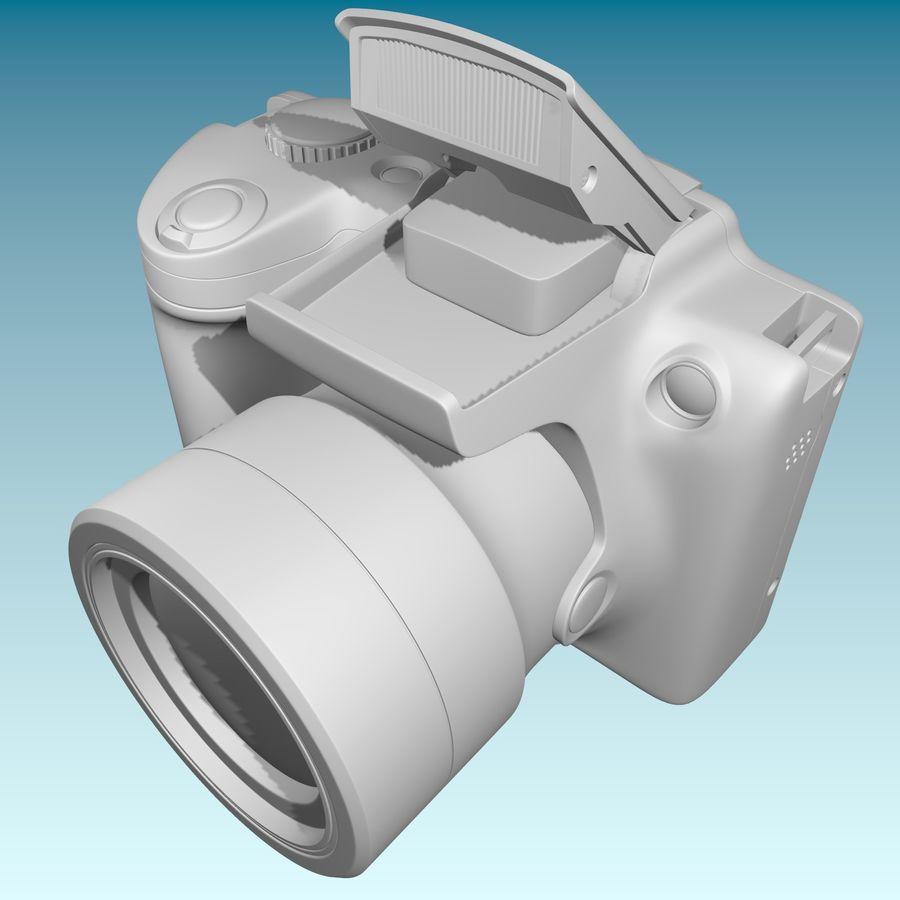 Canon SX510 royalty-free 3d model - Preview no. 15