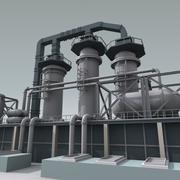 Raffinerie - Einheit 2 3d model