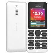 Nokia 130 Dual Sim bianco 3d model