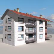 Block Building 06 3d model