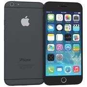 Apple iPhone 6 Black 3d model