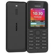 Nokia 130 Dual Sim Siyah 3d model