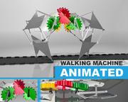 Walking Machine 3d model
