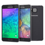 Samsung Galaxy Alpha Black And White 3d model