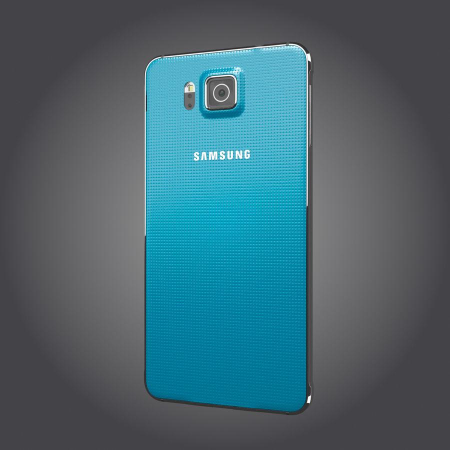 Samsung Galaxy Alpha royalty-free 3d model - Preview no. 18