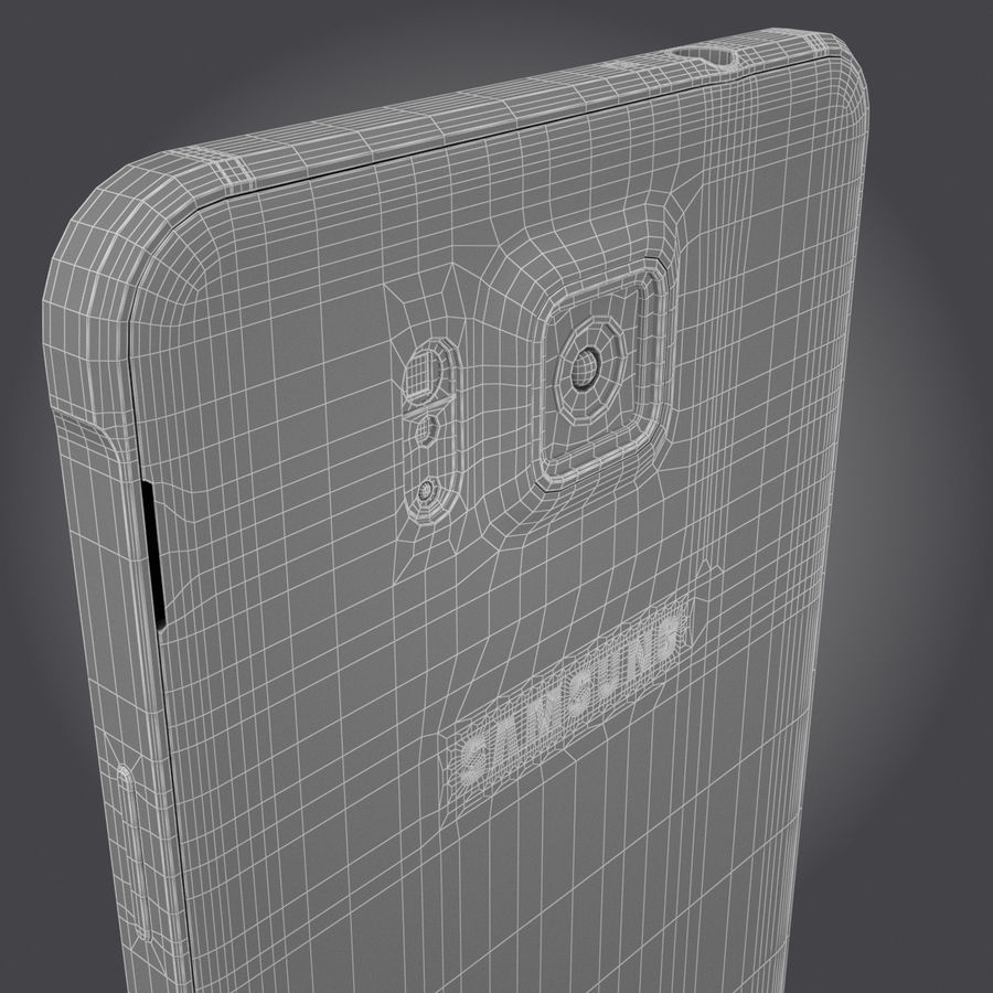 Samsung Galaxy Alpha royalty-free 3d model - Preview no. 29