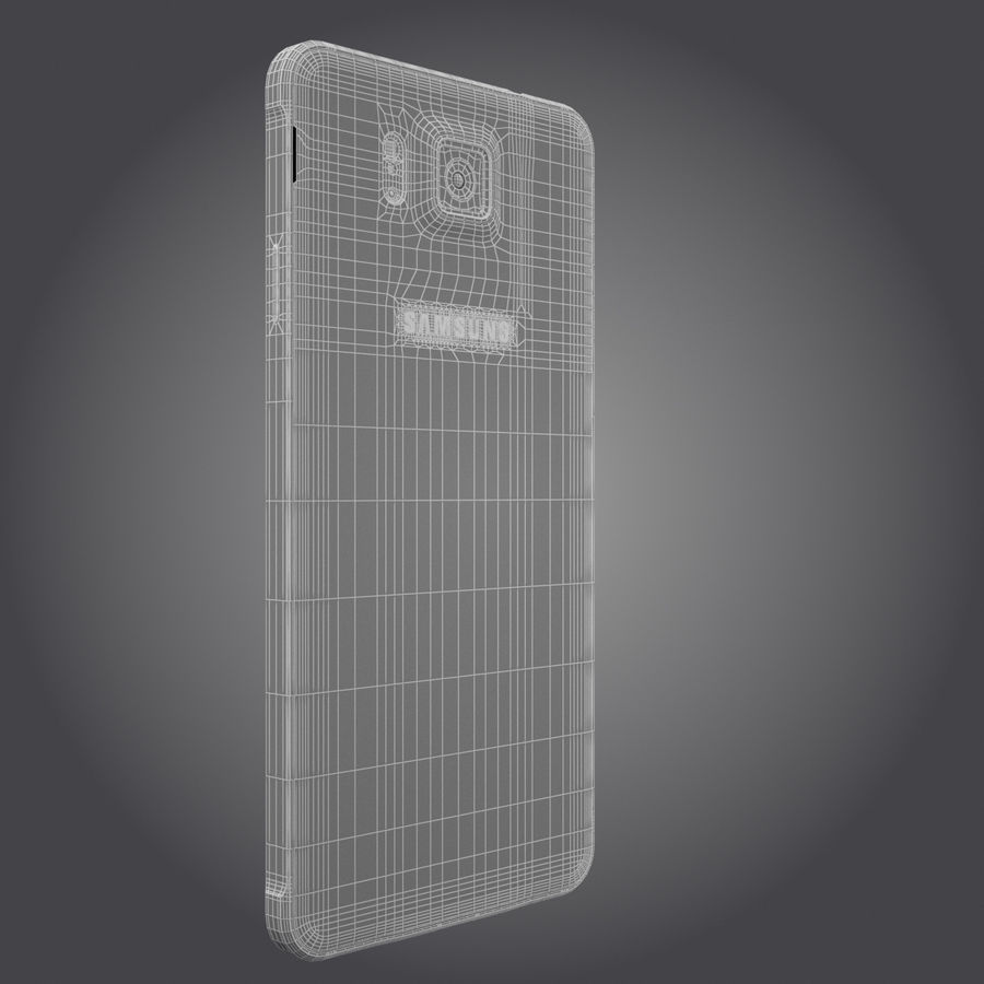 Samsung Galaxy Alpha royalty-free 3d model - Preview no. 28