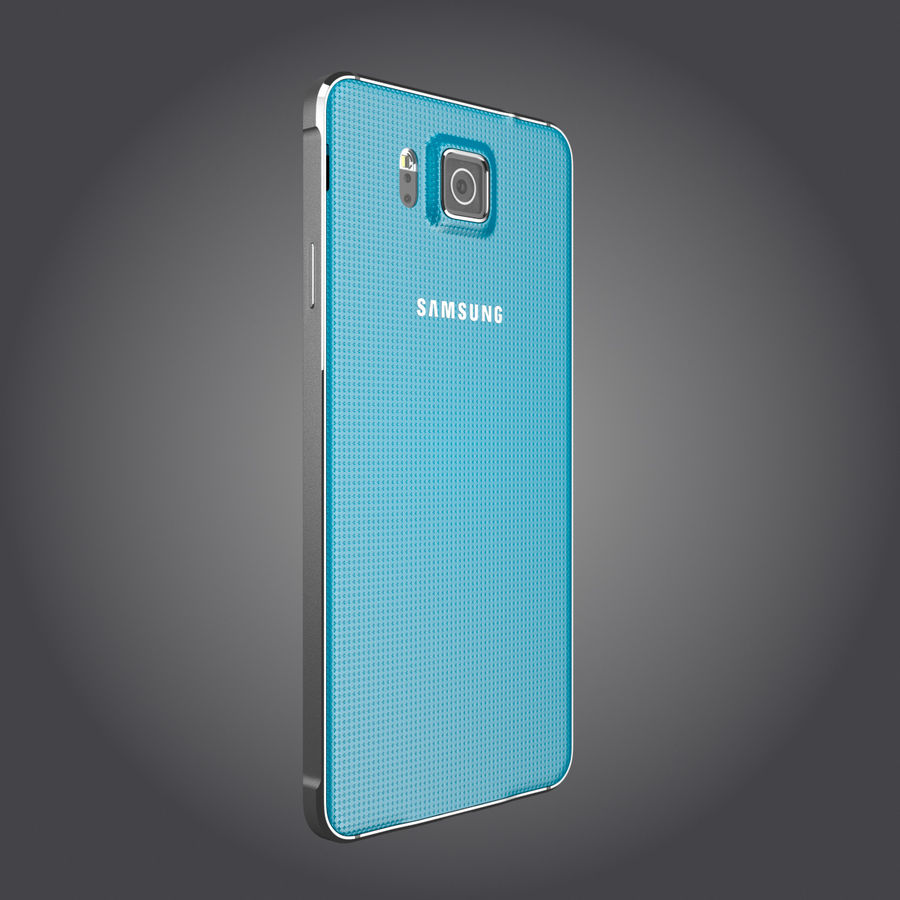 Samsung Galaxy Alpha royalty-free 3d model - Preview no. 21