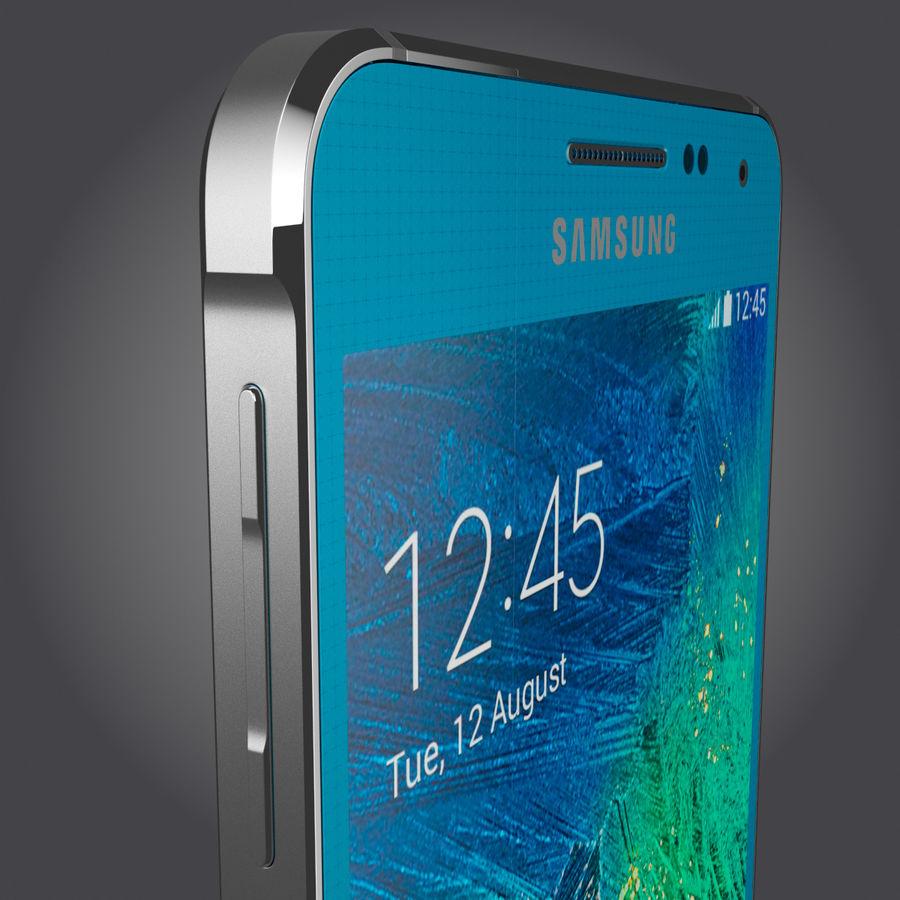 Samsung Galaxy Alpha royalty-free 3d model - Preview no. 7