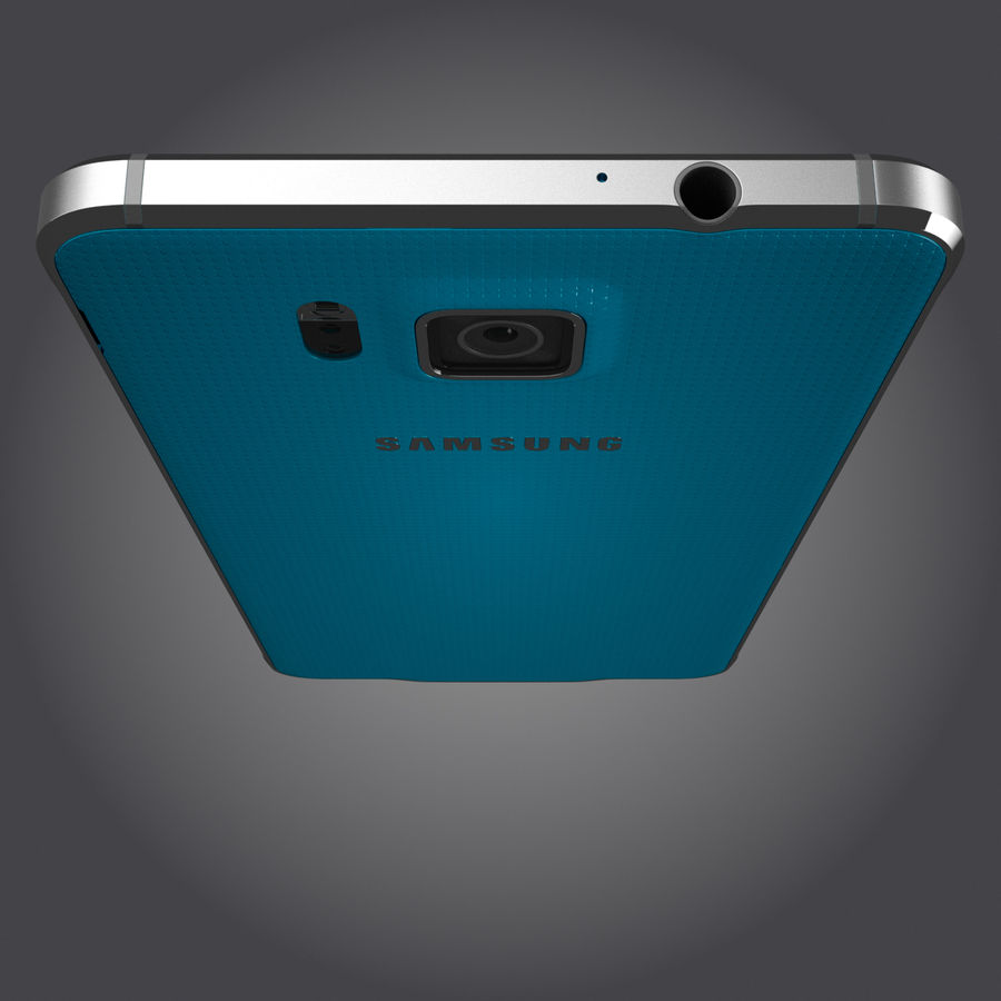 Samsung Galaxy Alpha royalty-free 3d model - Preview no. 6