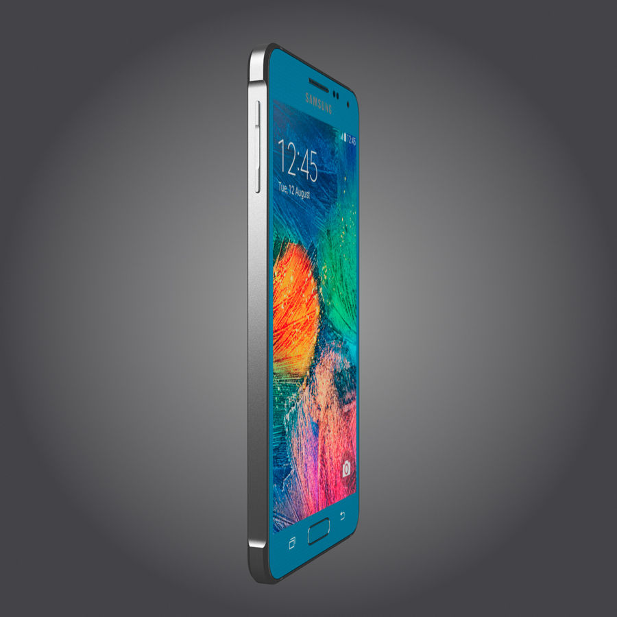 Samsung Galaxy Alpha royalty-free 3d model - Preview no. 14