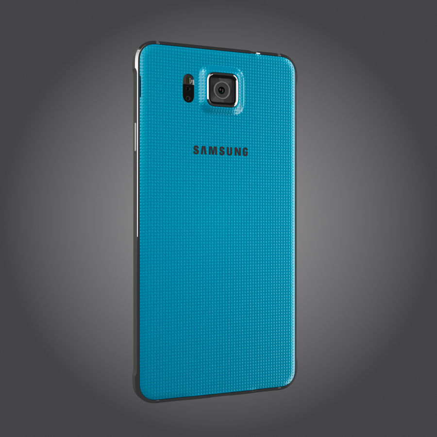 Samsung Galaxy Alpha royalty-free 3d model - Preview no. 20