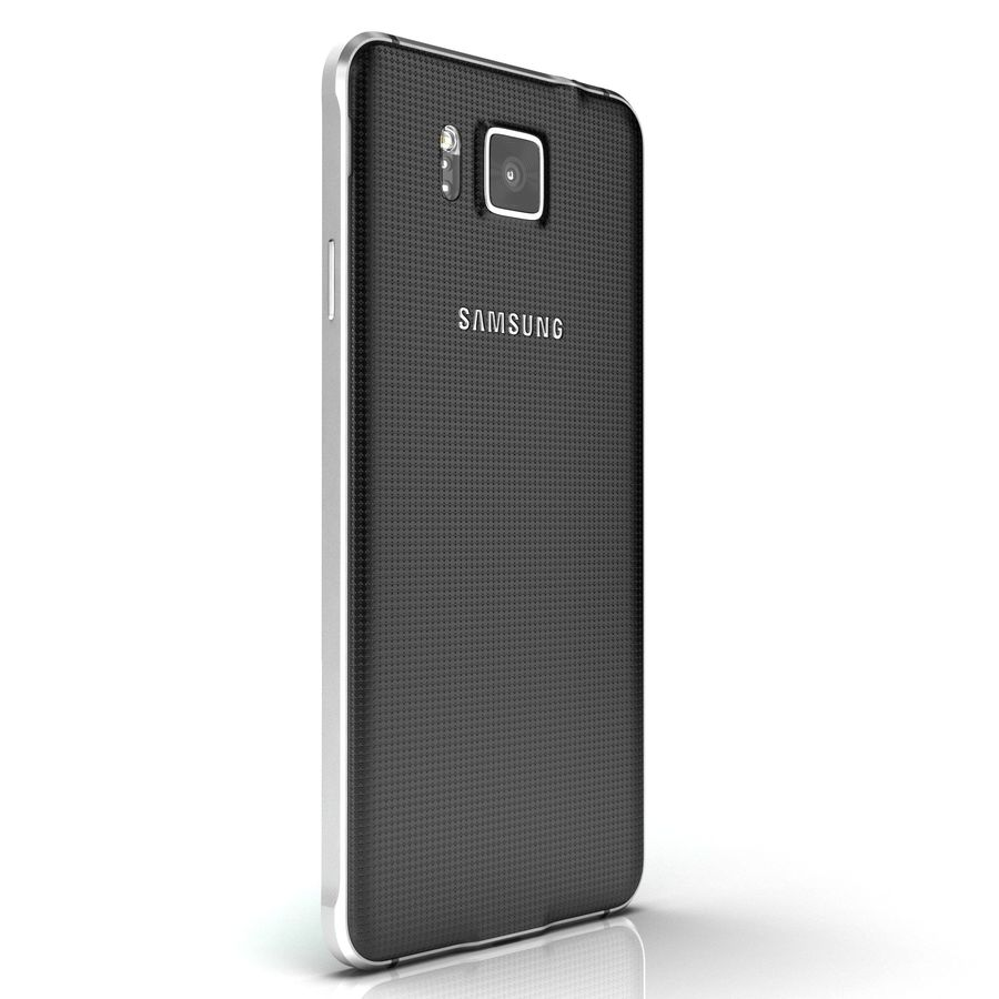 Samsung Galaxy Alpha royalty-free 3d model - Preview no. 12