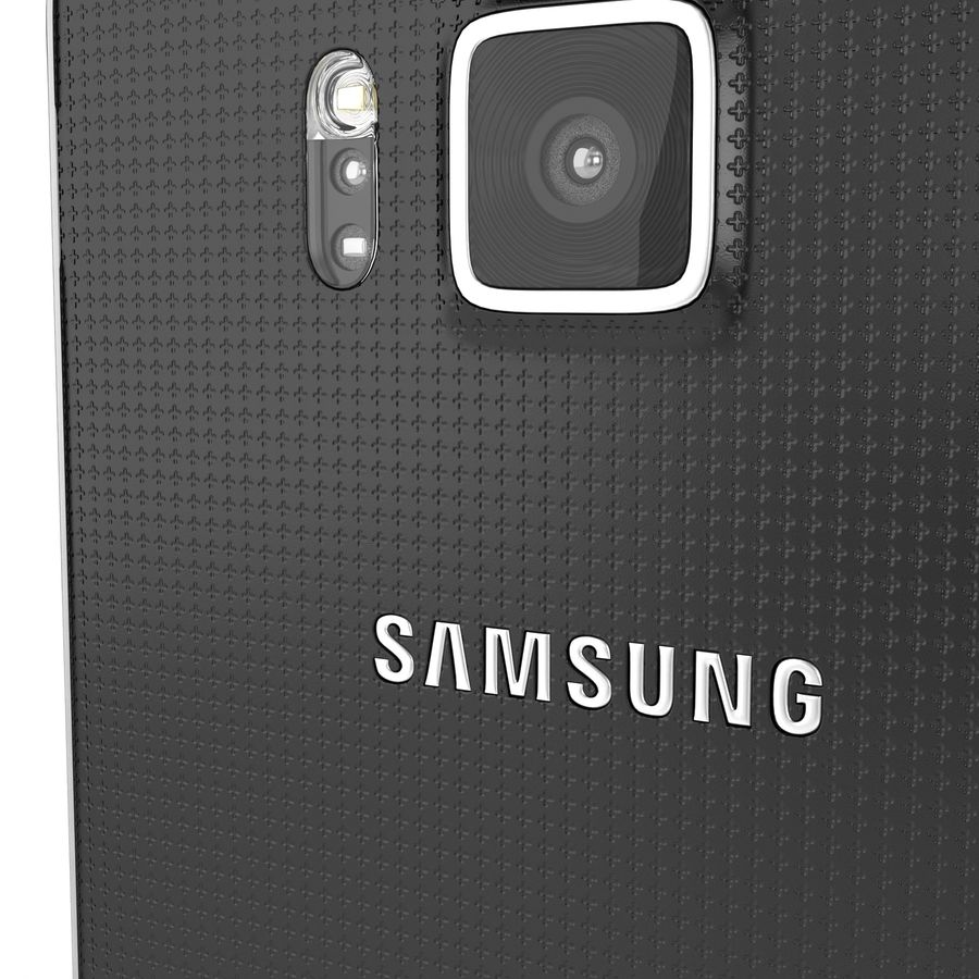 Samsung Galaxy Alpha royalty-free 3d model - Preview no. 17