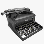 Typewriter ROYAL 02 3d model