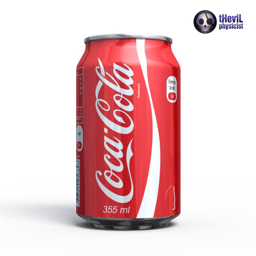 Coca cola royalty-free 3d model - Preview no. 3