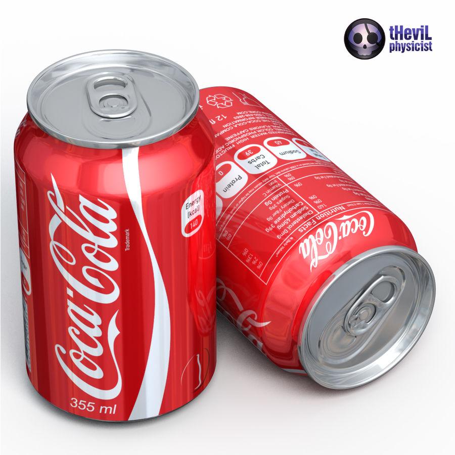Coca cola royalty-free 3d model - Preview no. 2
