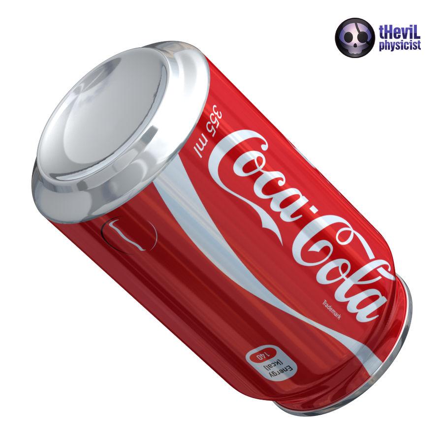 Coca cola royalty-free 3d model - Preview no. 6