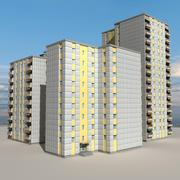 Block Building 02 3d model