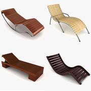 Ligstoel Collectie 3d model