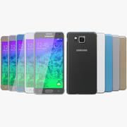 Samsung Galaxy Alpha Alla färger 3d model