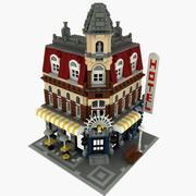 Lego Cafe Corner 3d model