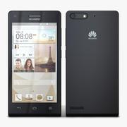 Huawei Ascend G6 & G6 4G Black 3d model