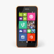 诺基亚Lumia 530 3d model