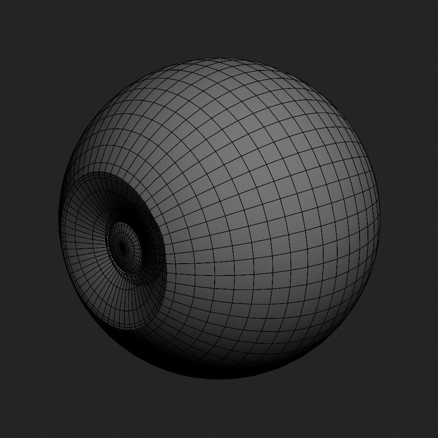 Human Eyeball royalty-free 3d model - Preview no. 17