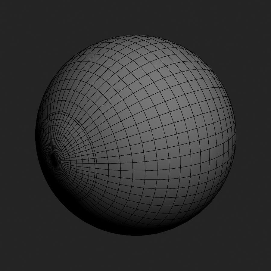 Human Eyeball royalty-free 3d model - Preview no. 18