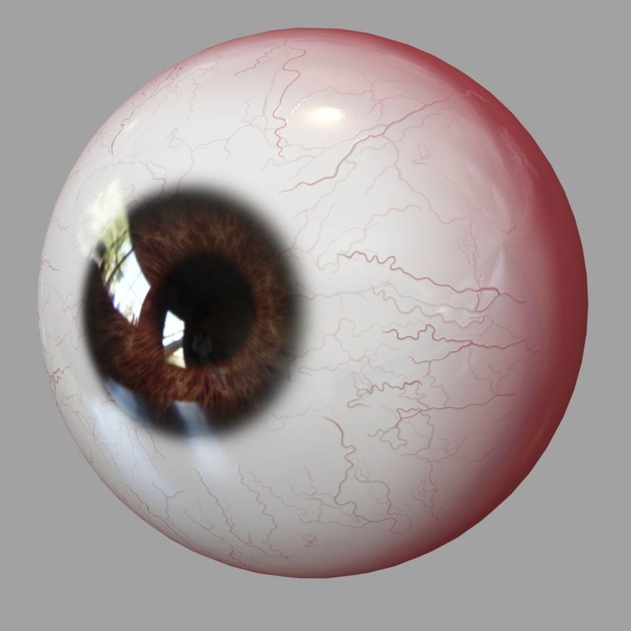 Human Eyeball royalty-free 3d model - Preview no. 8