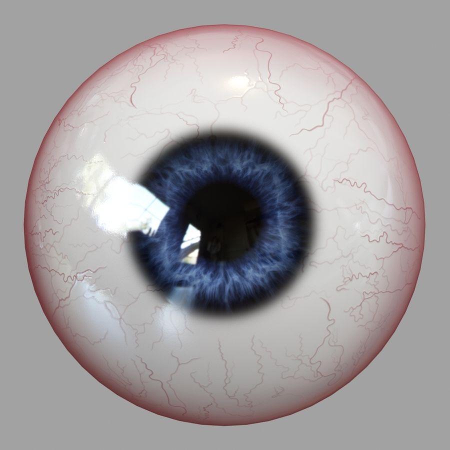 Human Eyeball royalty-free 3d model - Preview no. 9