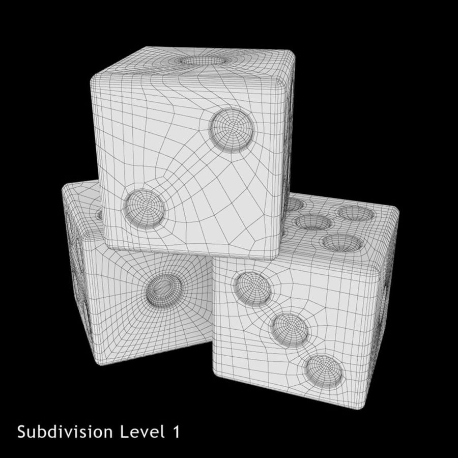 Dice royalty-free 3d model - Preview no. 12