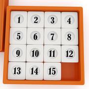 15-Puzzle 3d model
