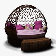 Sofa-Hangmat 3d model