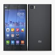 Xiaomi Mi 3 Black 3d model