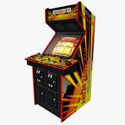 Oldschool Arcade Gaming Machine 3d model