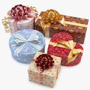 Sammlung Geschenkbox 3d model