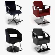 Коллекция Парикмахерское кресло 3d model