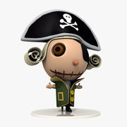 Pirate 3d model
